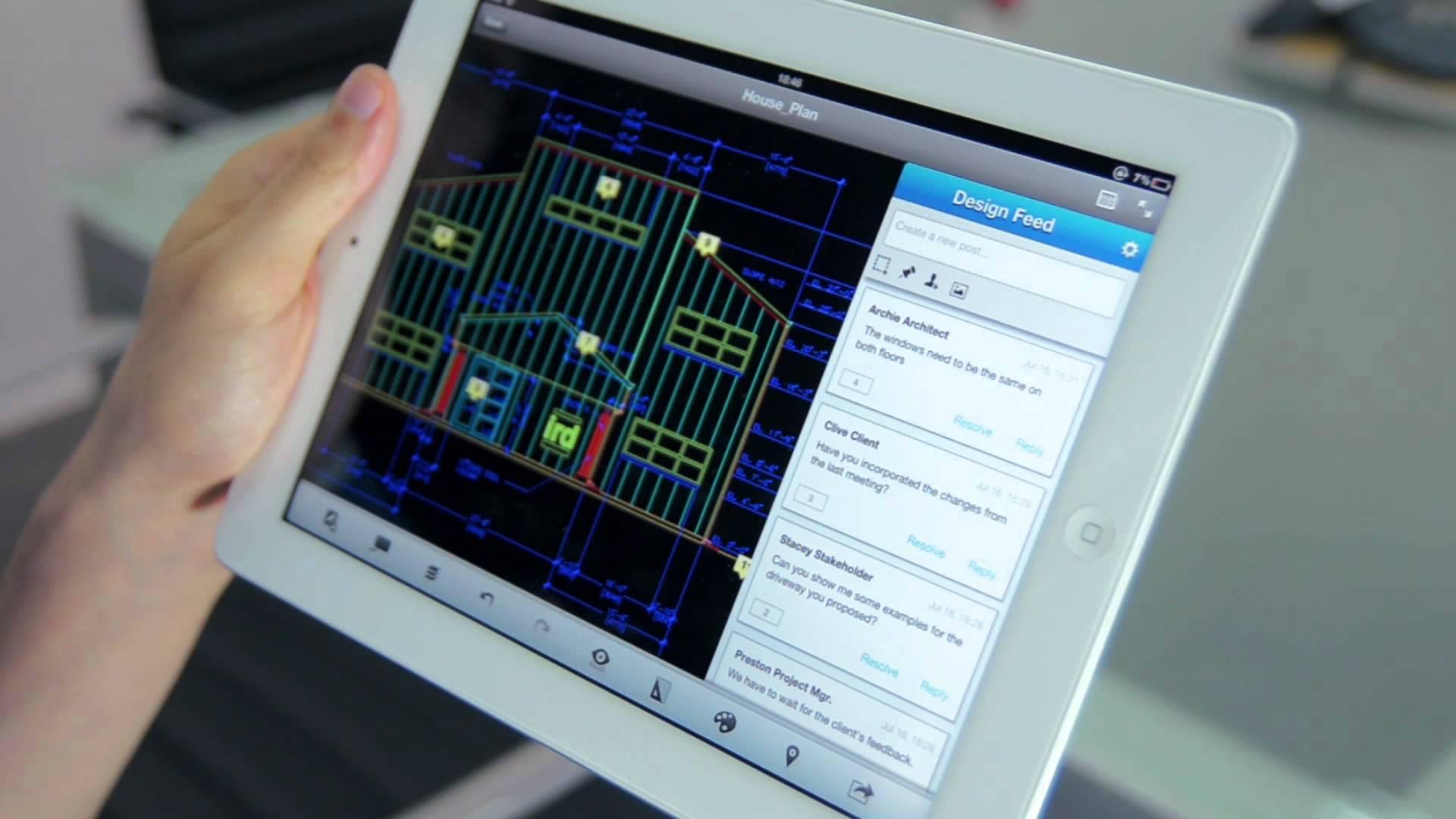 Autocad 360 se actualiza y pasa a ser aplicaci n universal for App para planos