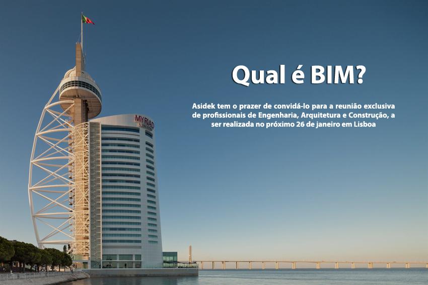 Conferencia: Tecnología BIM para Construcción e Infraestructuras | Lisboa