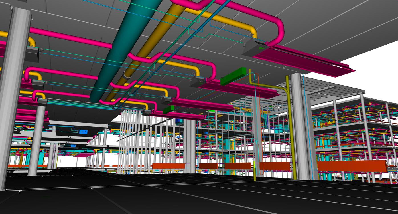 Tecnología BIM para la ejecución de instalaciones MEP