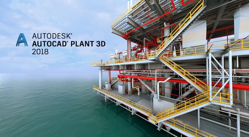 Asidek le trae las novedades de AutoCAD Plant 3D 2018