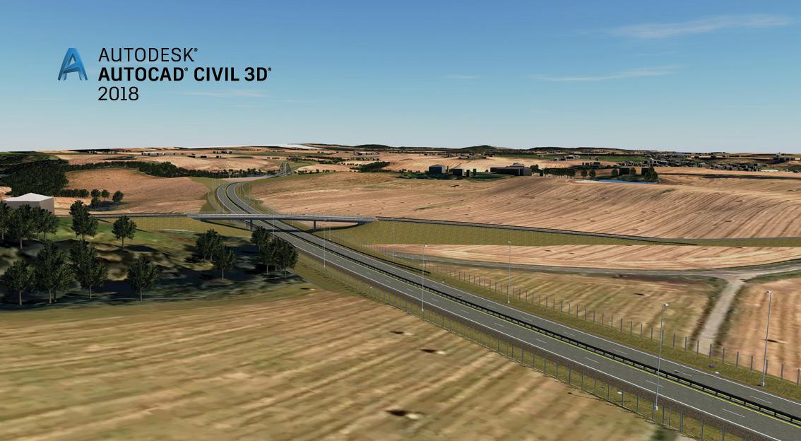 Conozca las novedades de Autodesk Civil 3D 2018