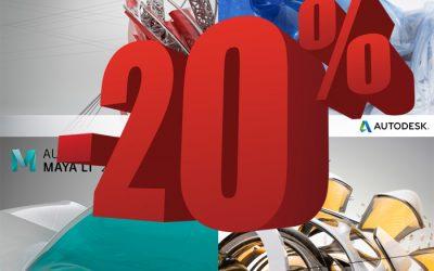 Consigue un 20% de descuento en la familia de productos LT