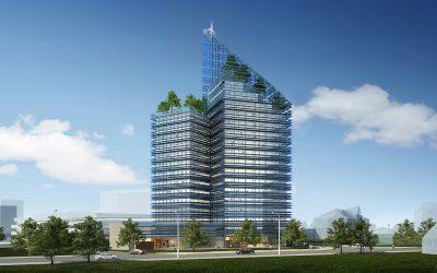 Smart Green Tower, un rascacielos capaz de abastecer de energía renovable a todo un vecindario