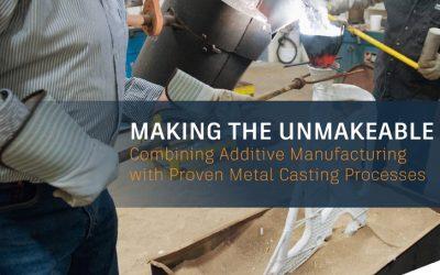 Ebook – Fabricación aditiva y procesos de fundición de metal.