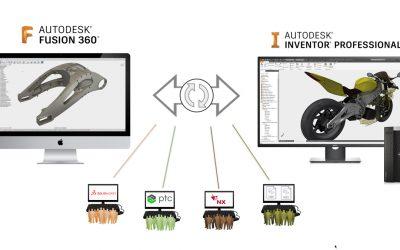 El desarrollo de productos ahora más fácil con AnyCAD en Autodesk Fusion 360
