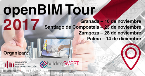 Asidek ponente del openBIM Tour 2017 que organiza la building SMART