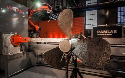 La segunda hélice impresa en 3D acaba de superar todas sus pruebas operativas