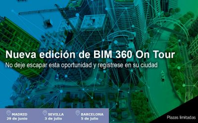LLega una nueva edición de BIM 360 On Tour