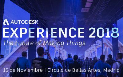 Asidek presente en el Autodesk Experience 2018
