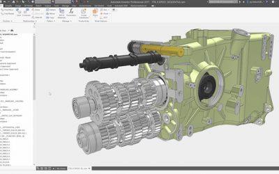 Autodesk Inventor pone la colaboración en el centro del proceso de diseño