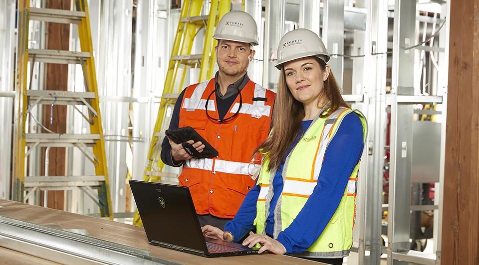 Fortis Construction utiliza la tecnología de construcción para fortalecer la relación con sus clientes