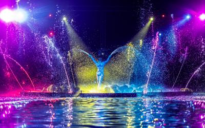 Fluidra ha creado un espectáculo acuático único en el mundo con BIM