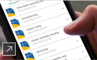 AutoCAD Mobile App en la era de la digitalización