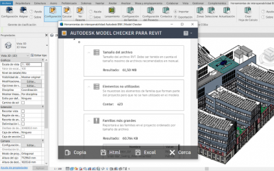 Autodesk BIM Interoperability Tools for Revit: la herramienta Model Checker