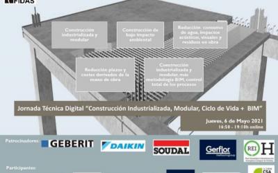 """Jornada Técnica Online de BioEconomic """"Construcción Industrializada, Modular, Ciclo de Vida + BIM"""""""