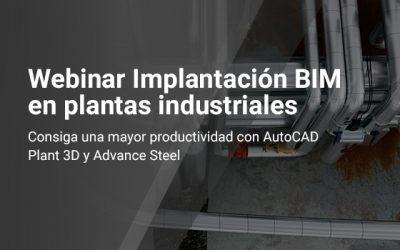 Webinar implantación BIM en plantas industriales